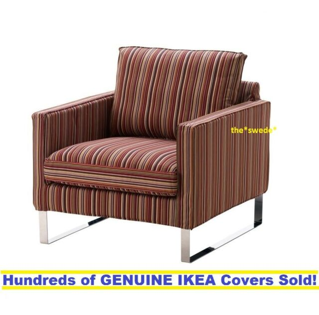 Ikea Mellby Chair Armchair Cover Slipcover Kulladal Multicolor New Sealed