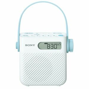 SONY ICF-S80 FM AM Wide-FM Radio for Bathroom Drip Proof ...