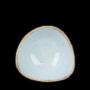 Churchill STONECAST Triangle Bowl Duck Egg Blue Schüssel Schale Porzellan 26 cl