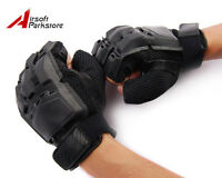 Military Tactical Airsoft Hunting Assault Swat Paintball Half-finger Gloves - M