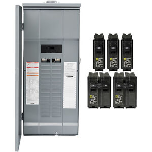 Image Is Loading Square D 200 Amp Main Breaker Outdoor Load