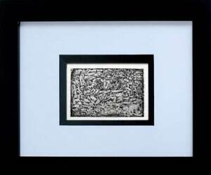 "Paul KLEE Lithograph LTD Edition ""Garden of Passion"" w/FRAME Included"
