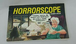 One Liner Jokes About Art : Horrorscope humor graphic art comic book olson & kelso 1991 one