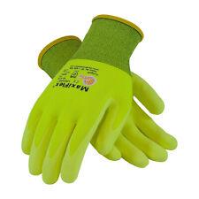 Pip Maxiflex Ultimate Hi Vis Nitrile Micro Foam Coated Gloves Lg 3pr 34 874fy