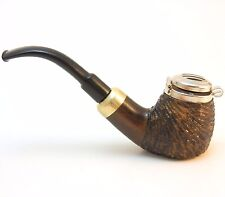 Tobacco Pipe - Model No 21 Old Army Walnut Rusticated - Hand Made by Mr. Brog