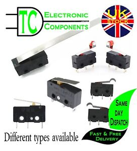 5A-250V-Micro-Switch-different-leaver-lengths-types-available-UK-SELLER