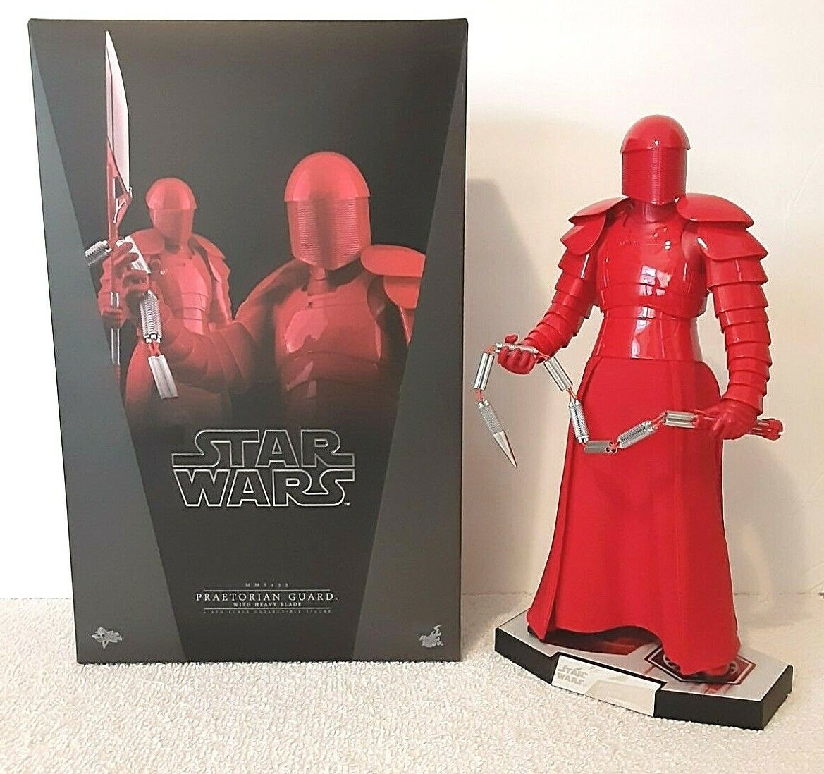 Hot Toys Star Wars: The Last Jedi Praetorian Guard (Heavy Blade) 1/6 Figure  on eBay thumbnail