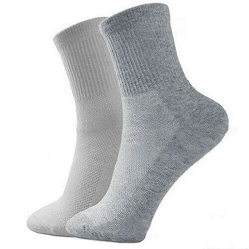 EE/_ 5 Pairs Men Breathable Socks Thermal Soft Cotton Blended Casual Sport Sock C