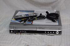 Panasonic DMR-ES46V DVD Video Recorder VHS VCR Combo w/ Remote & HDMI Cable