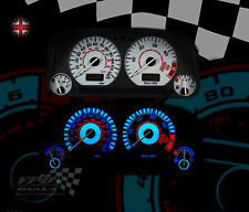 fits Volkswagen VW golf mk3 speedometer dash white lighting dial kit upgrade