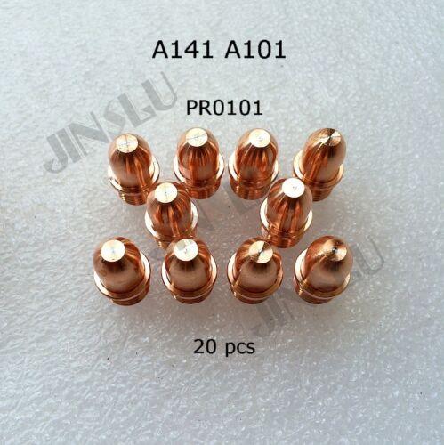 A141 A101 Electrode PR0101 20pcs Air Plasma Cutting Torch Cutter Consumables
