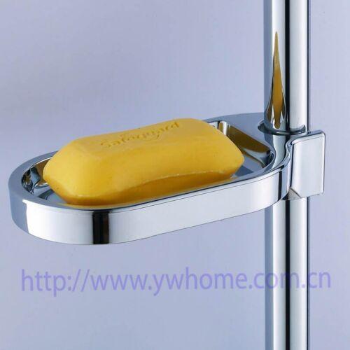 Boîte à savon de douche en plastique porte-savon palette barre de douche