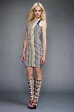 New Versace Resort 2011 Dot Print Shift Dress 40 uk 8