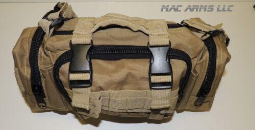 3-way Utility Bag-Shoulder New- Tactical Range Bag Hand-Black,Tan,ACU Waist