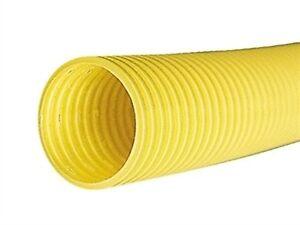 drainagerohr dn65 gelb gelocht 10m entw sserung drainageschlauch drainrohr. Black Bedroom Furniture Sets. Home Design Ideas