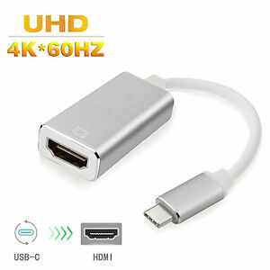 USB-3-1-Type-C-to-HDMI-VGA-Adapter-Cable-4K-60Hz-For-2016-Macbook-Pro-Chromebook