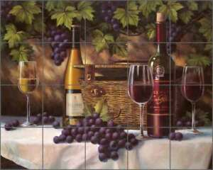 Wine-Grape-Art-Tile-Backsplash-Chiu-Ceramic-Mural-EC-TC009