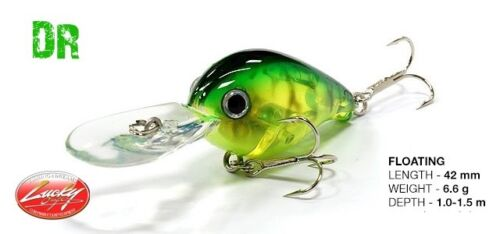 Lucky Craft Clutch DR fishing lures original range of colors