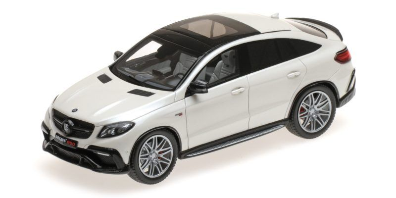 Brabus 850 4x4 su base Mercedes Benz GLE 63 S bianca 2016 1 43 MODEL MINICHAMPS
