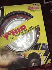 Pilot Automotive 7 Round Hid Off Road Car Light Pl 1101 35 Watts New