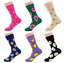 Women-Mens-Socks-Funny-Colorful-Happy-Business-Party-Cotton-Comfortable-Socks thumbnail 3