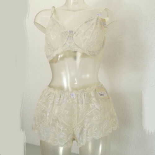 Details about  /Comfort Bra Unpadded Or Panty Ivory Change of Scandinavia 80 85 For