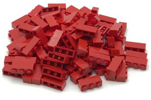 Lego 100 Red 1 x 3 Dot Bricks Building Blocks Pieces Parts