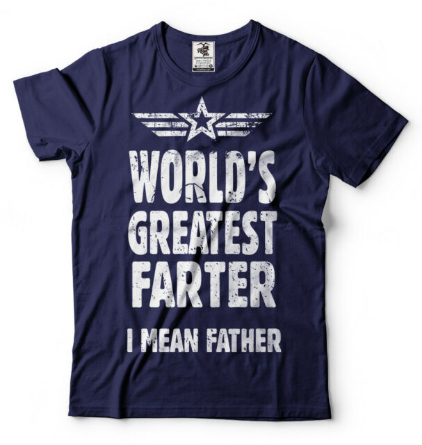 Farter Dad ShirtWorld Greatest Father Day Gift Idea Cool V-Neck T Shirt