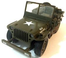 Vickers Oxford Cararama CJ-5 SAS Lrdg 1:43 Escala Modelo Willys Jeep Ejército