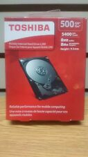 "New Toshiba L200 500Gb 2.5"" Internal Hard Drive - 5400/8 Mb Buffer"
