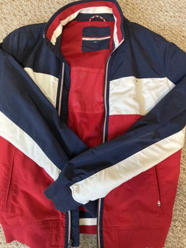 Tommy Hilfiger Windbreaker Jacket- Men Large