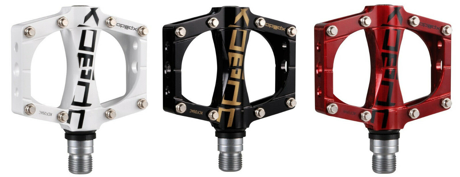 Pedals Xpedo Traverse 9 Weight Approx 320 grams in Different Farbes
