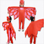 Kinder Karneval Fasching PJ Masks Kostüm Overall Catboy Owlette Gekko Cosplay