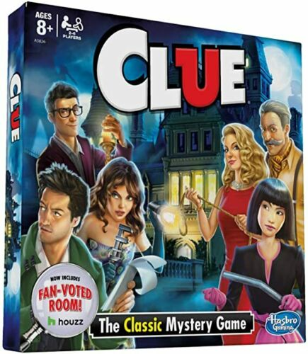 Game Play Clue Board C Features Fan Voted Room As Seen On Houzz Website Class