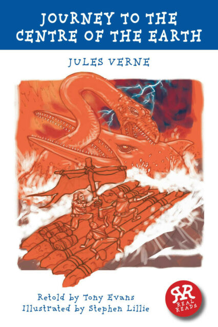 Real Reads: A Journey to the Centre of the Earth by Jules Verne, (Paperback)