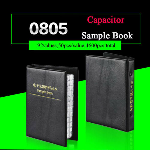 0805 Practical SMD//SMT Capacitors Sample Book Components 0.5PF-10UF Assorted KIT