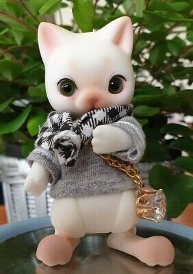 1//12 pet bird with make up chirp resin bjd doll collection fat bird animal doll