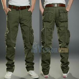 cargo trousers - Green Closed UpwC2HR3