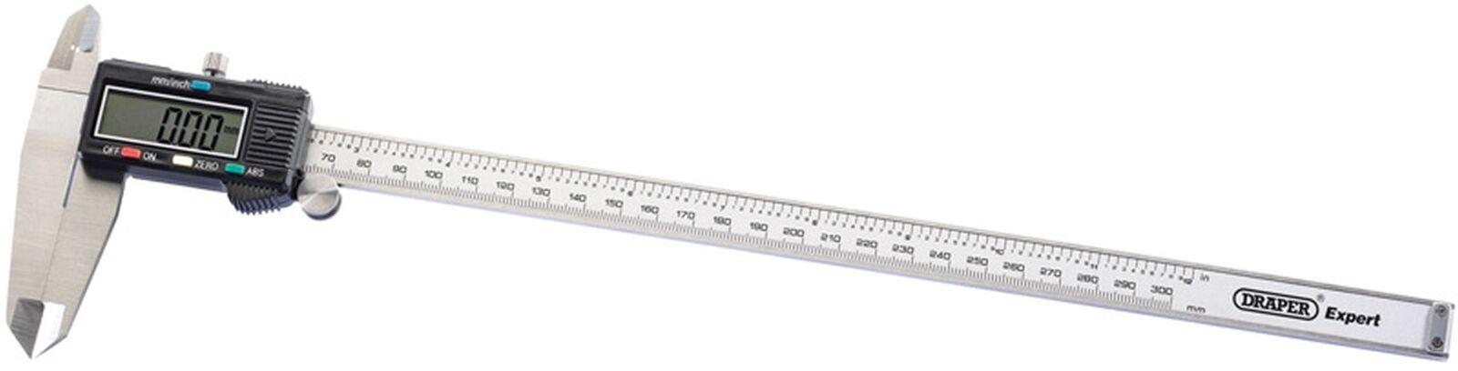 Autentico Draper 0-300mm/0-30.5cm 0-300mm/0-30.5cm 0-300mm/0-30.5cm Calibro Digitale a Nonio 80844 5a8a7c