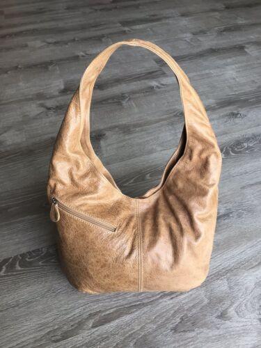 marrón hobo uso desgastado cuero de mujer diario Alicia de bolsos bolsillos de con Bolso Htdwqx1ZH