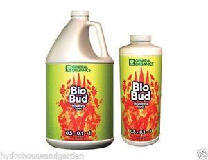 General Hydroponics General Organics Bio Bud Bloom Booster 1 Quart