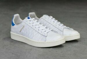 best sneakers 30d11 a9a12 Details about ADIDAS CAMPUS S E CONSORTIUM COLETTE UNDEFEATED WHITE & BLUE  8.5 uk