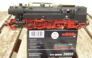 Marklin-39650-maquina-de-vapor-br-65-012-DB-epoca-3-como-nuevo-mfx-Digital-Sound-privilegiada