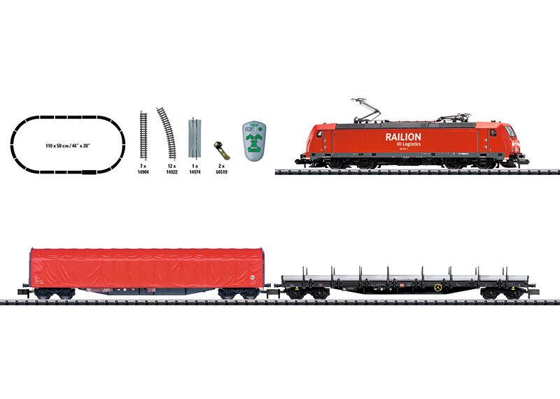 autorizzazione Minitrix N 11145 Digital-Confezione iniziale    treno merci  merce nuova  salutare