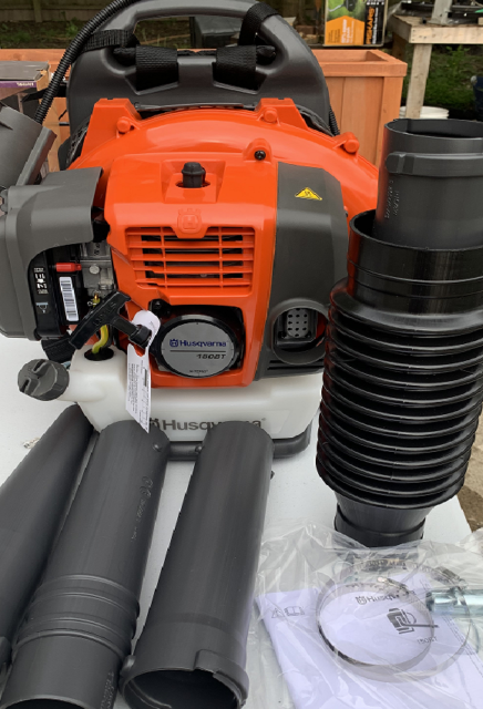 Husqvarna 150bt Commercial 50cc 2 Cycle Gas Backpack Blower - New Free ship