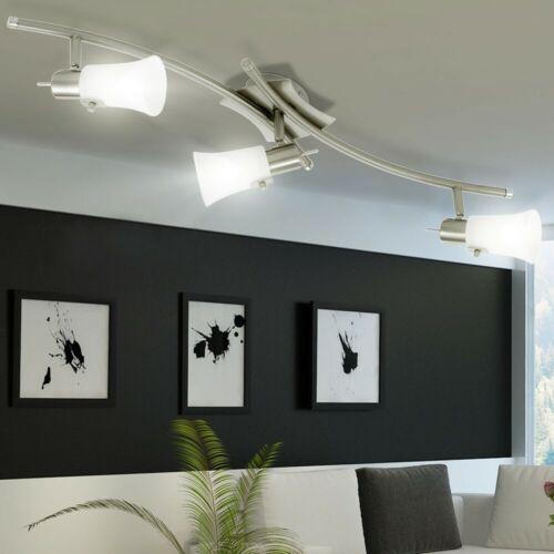 DEL spotleiste plafond éclairage Bureau glaslampe pivotante Longueur 76,5 cm