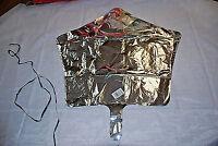 1-lot Of 10 / Anagram Silver Star Shape Foil Mylar 19 Balloon (s6049)