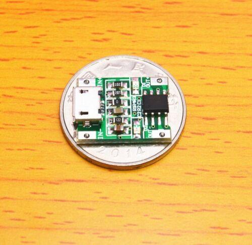 5V 1A MicroUSB 1S Li-ion 18650 Lithium Lipo 3.7V Battery Charger Charging Module