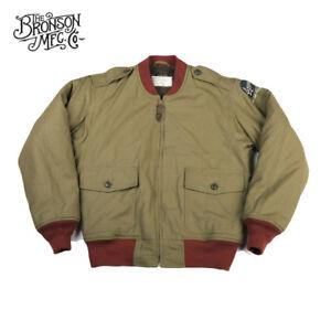 Bronson-Repro-B-10-MOD-Flight-Jacket-Vintage-Bomber-Military-Coat-WW2-Uniform