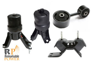 Transmission Engine Motor Mounts Set Kit 2.4 L For Toyota Camry Solara